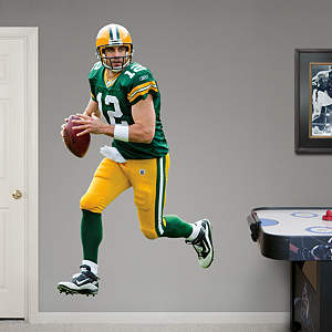 Aaron Rodgers - Home Fathead Wall Decal