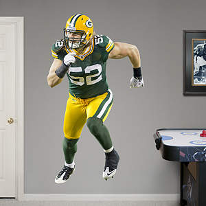 Fathead Vinyl Wall Graphic of Clay Matthews