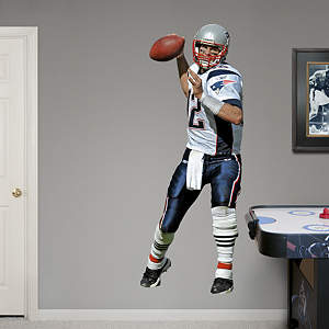 Tom Brady - Away Fathead Wall Decal