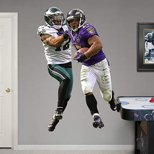 Ray Rice Takes It On Fathead Wall Decal