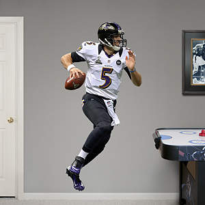 Joe Flacco Super Bowl XLVII MVP Fathead Wall Decal