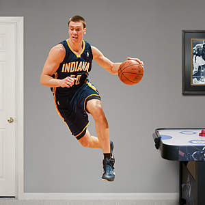 Tyler Hansbrough Fathead Wall Decal
