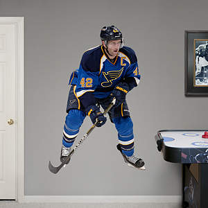 David Backes Fathead Wall Decal