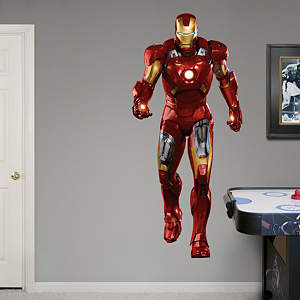 Iron Man Fathead Wall Decal