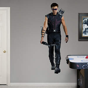 Hawkeye: Avengers Live Action Photo  Fathead Wall Decal