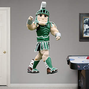 Life-Size Sparty Fathead Wall Decal