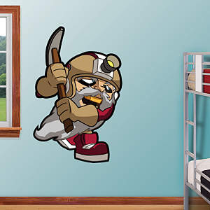 San Francisco 49ers Rusher Fathead Wall Decal
