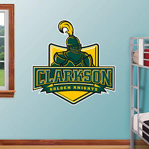 Clarkson Golden Knights Logo Fathead Wall Decal