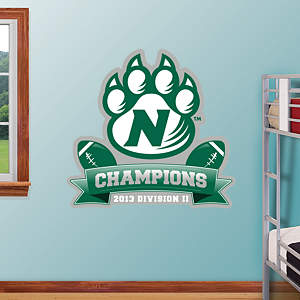 Northwest Missouri State Bearcats - DII Football Champions Logo Fathead Wall Decal