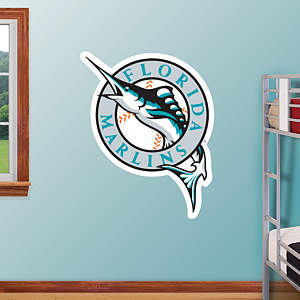 Florida Marlins Logo Fathead Wall Decal