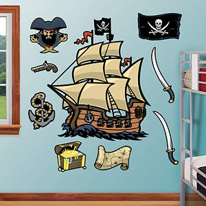 Pirates Fathead Wall Decal