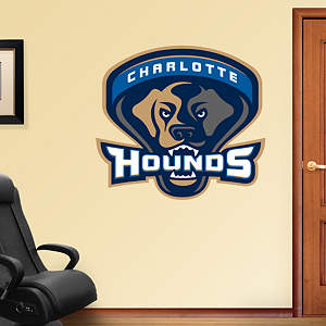 Charlotte Hounds Logo  Fathead Wall Decal