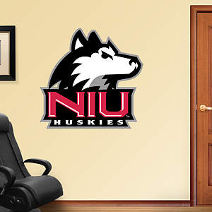 Northern Illinois Huskies Logo Fathead Wall Decal