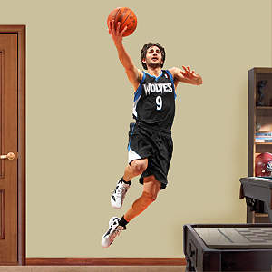 Ricky Rubio Fathead Wall Decal