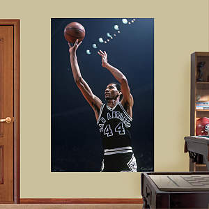 George Gervin Mural Fathead Wall Decal
