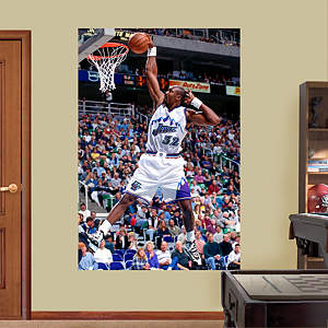 Karl Malone Mural Fathead Wall Decal