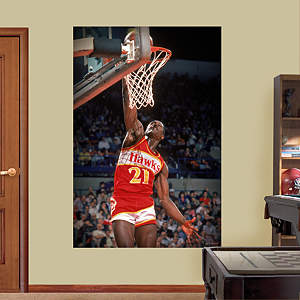 Dominique Wilkins Mural Fathead Wall Decal