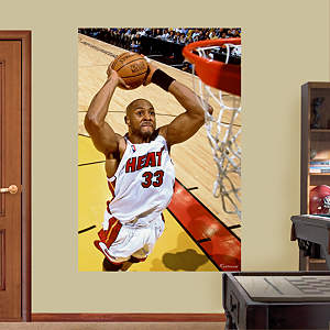 Alonzo Mourning Mural Fathead Wall Decal
