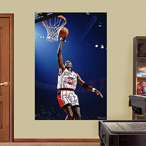 Clyde Drexler Rockets Mural Fathead Wall Decal