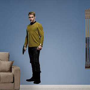 Captain James T. Kirk: Star Trek - Into Darkness Fathead Wall Decal