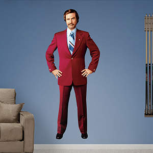 Anchorman Ron Burgundy Fathead Wall Decal