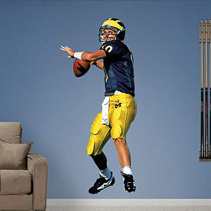 Tom Brady Michigan Fathead Wall Decal