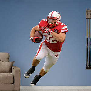Rex Burkhead Nebraska Fathead Wall Decal