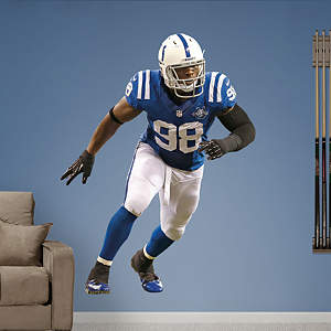 Robert Mathis Fathead Wall Decal