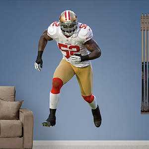 Patrick Willis - Away Fathead Wall Decal