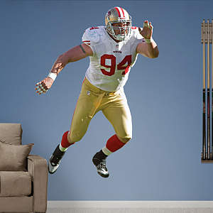 Justin Smith Fathead Wall Decal