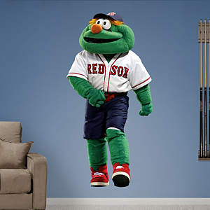 Boston Red Sox Mascot - Wally the Green Monster Fathead Wall Decal