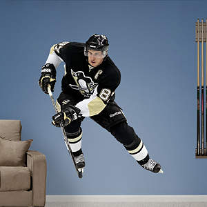 Sidney Crosby Real Big wall decal from Fathead