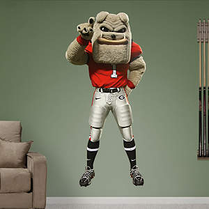 Georgia Mascot - Hairy Dawg Fathead Wall Decal