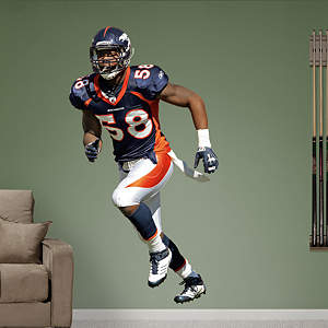 Von Miller Fathead Wall Decal