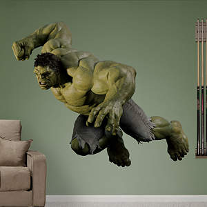 Hulk: Avengers Live Action Photo Fathead Wall Decal