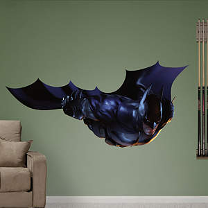 Batman Flying: Arkham City  Fathead Wall Decal