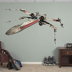 X Wing Fighter Fathead Wall Decal