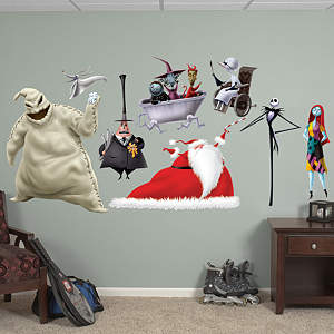 Nightmare Before Christmas Collection Fathead Wall Decal