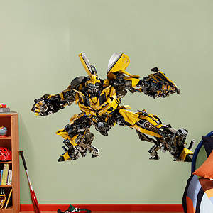 Bumblebee - Dark of the Moon Fathead Wall Decal