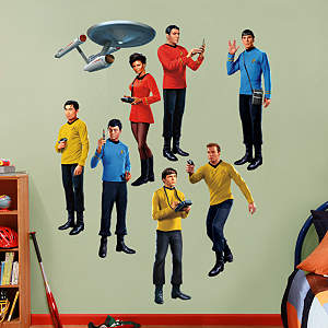 Star Trek: The Original Series Collection Fathead Wall Decal