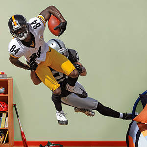 Antonio Brown Takes It On Fathead Wall Decal