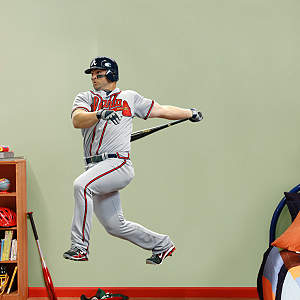 Dan Uggla   Fathead Wall Decal