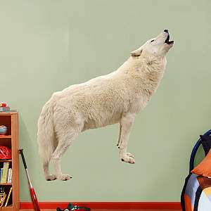 Howling Wolf Fathead Wall Decal