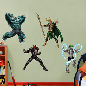 Avengers Assemble Villians Collection Fathead Wall Decal