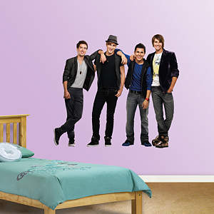 Big Time Rush Fathead Wall Decal