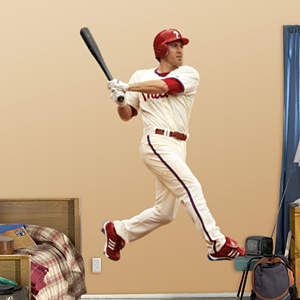 Chase Utley Fathead Wall Decal