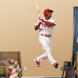 Jimmy Rollins Fathead Wall Decal