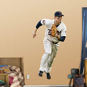 Justin Morneau - First Baseman Fathead Wall Decal