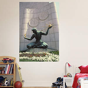 Spirit of Detroit Mural Fathead Wall Decal