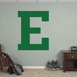 Eastern Michigan Eagles Block E Logo Fathead Wall Decal
